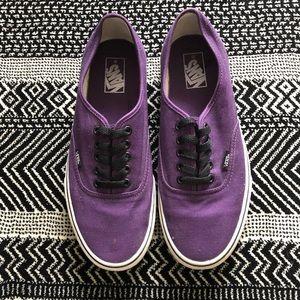 Classic Purple Vans